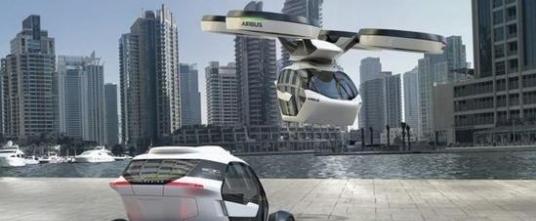 未来概念飞行汽车