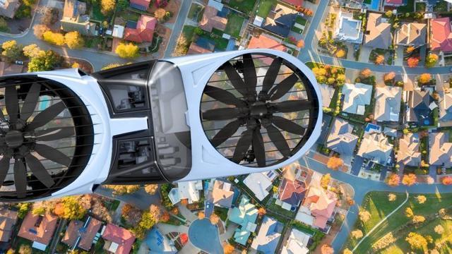 空中飞行汽车
