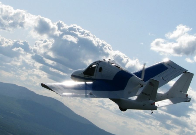 Terrafugia太力飞行汽车