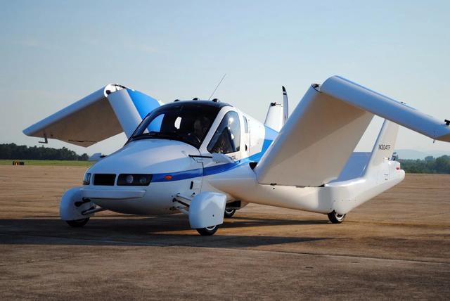 世界首款飞行汽车