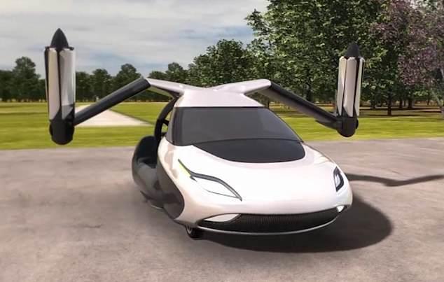 世界首款飞行汽车Transition