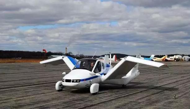Terrafugia第一款飞行汽车