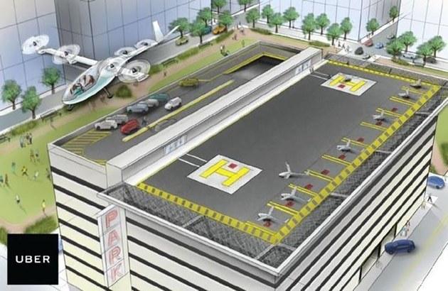 Terrafugia、Uber飞行汽车