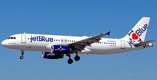 关于捷蓝航空开通跨大西洋航线的猜测再次升温