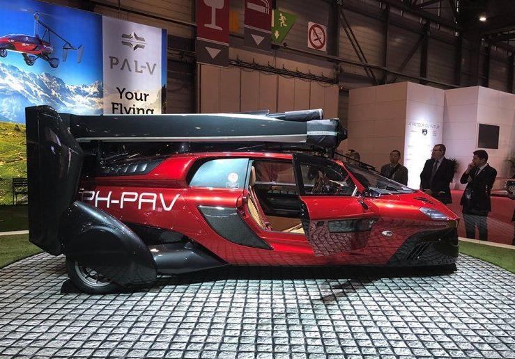 荷兰PAL-V Liberty飞行汽车