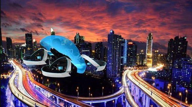丰田SkyDrive飞行汽车