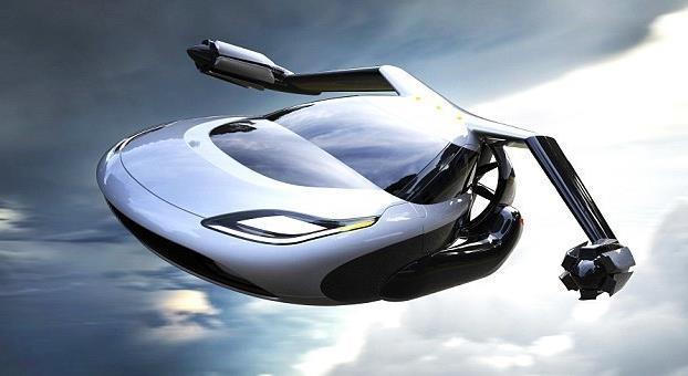无人驾驶概念飞行汽车