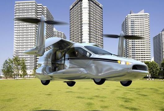 世界首台飞行汽车