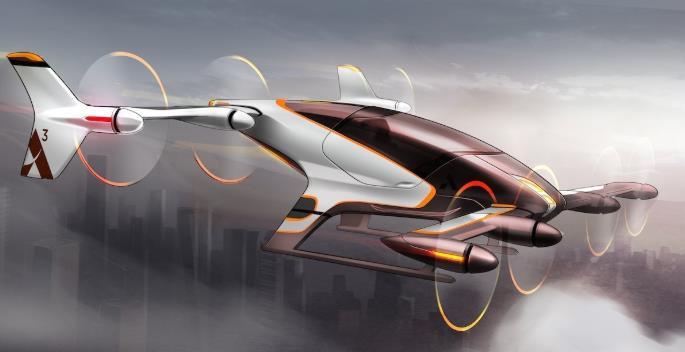 概念飞行汽车