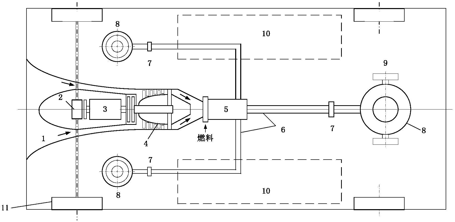 飞行汽车垂直起降系统