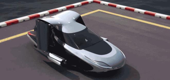 现代飞行汽车
