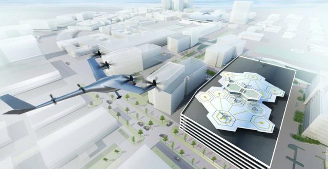 飞行汽车城市空运