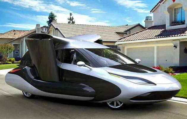 新款飞行汽车