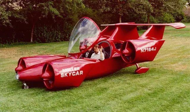 喷气飞行汽车