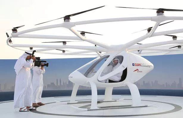 阿拉伯飞行汽车