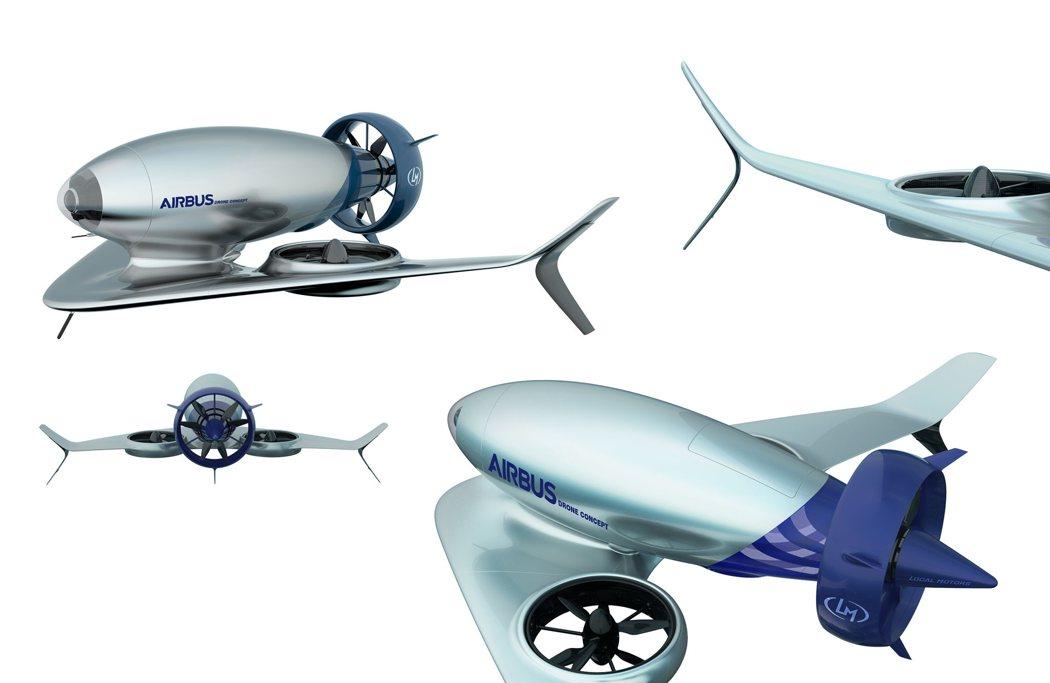 空客A180医疗无人机