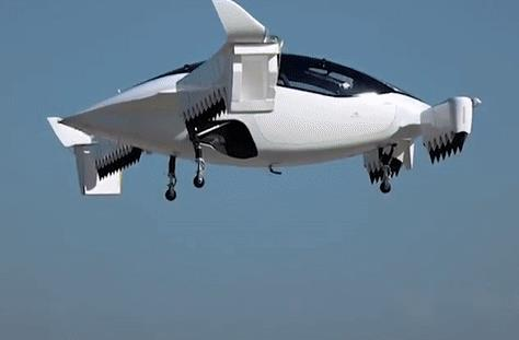 Lilium公司的空中出租车Lilium Jet