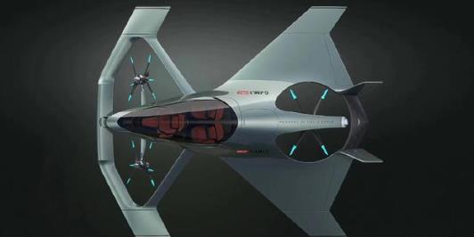 阿斯顿・马丁飞行概念车
