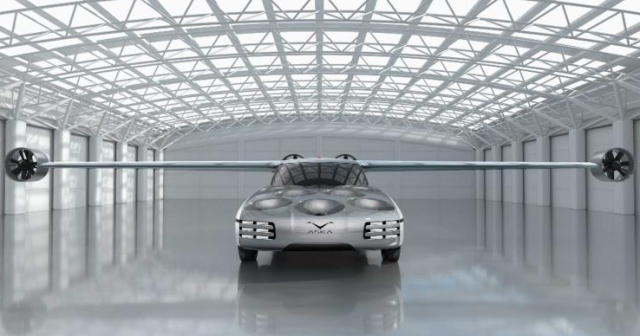 自动飞行汽车