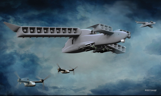 Aurora垂直起降飞行汽车