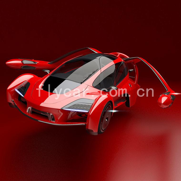 TF-X飞行汽车
