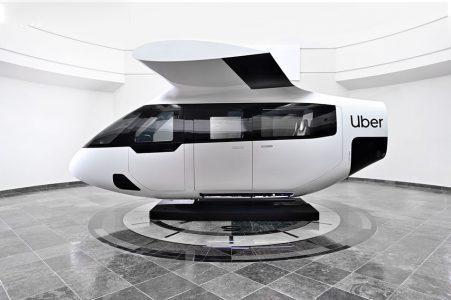 Uber开发的Uberair飞行出租车