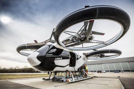 空客(airbus)研发的:CityAirbus飞行出租车