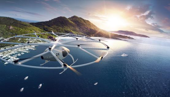 Volocopter垂直起降飞行汽车