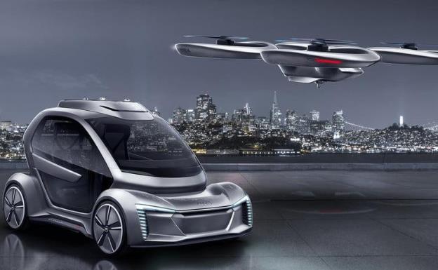 科幻飞车走进现实,奥迪计划开发飞行汽车!