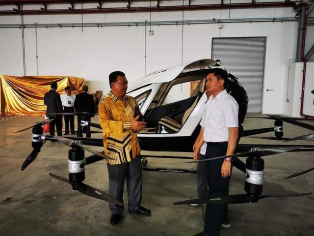 马来西亚首款飞行汽车细节近期正式发布
