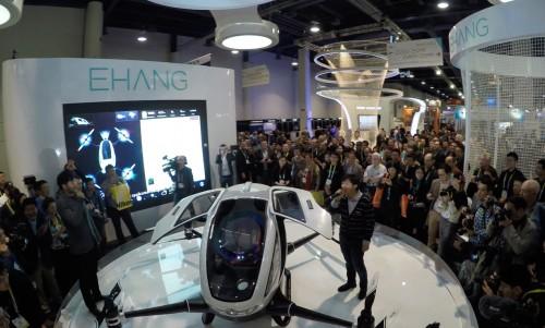 全球首款的纯电力载人级自动驾驶飞行器