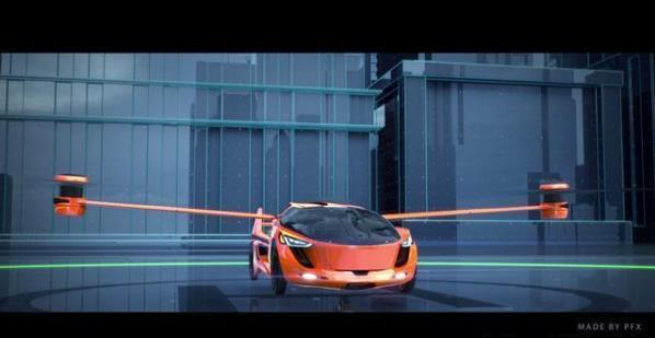 未来飞行汽车