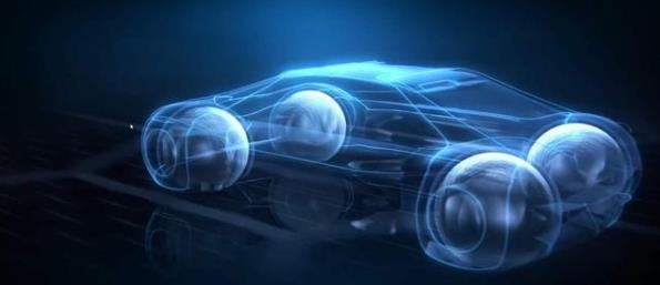 360度悬浮轮汽车