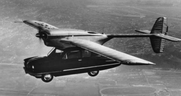 康维尔公司Model 118飞行汽车