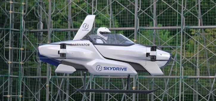 SkyDrive飞行汽车