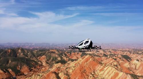 亿航载人级自动驾驶飞行器