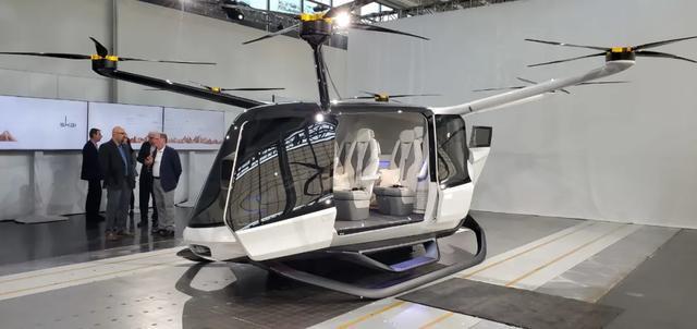 Skai六旋翼飞行汽车模型
