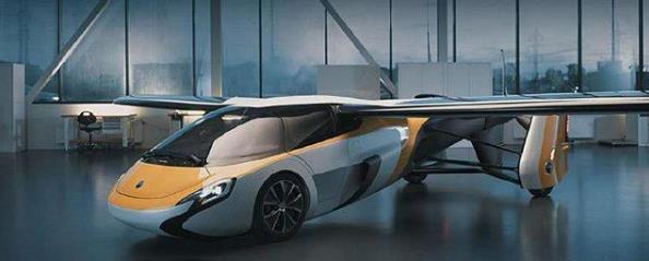 AeroMobile 4.0、5.0飞行汽车