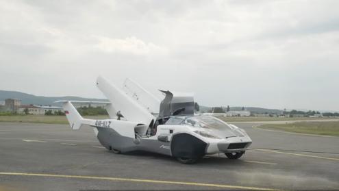 AirCar原型飞行汽车
