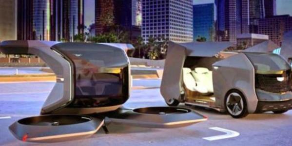 可垂直起落的飞行汽车