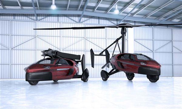 荷兰制造商PAL-V打造的飞行汽车Liberty