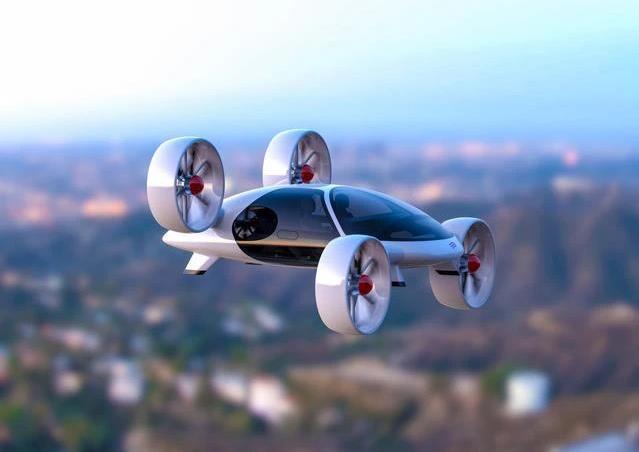 科幻电影《第五元素》中的飞行汽车