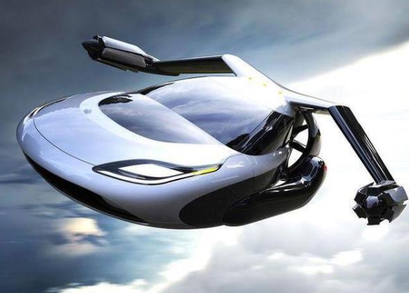 飞行汽车概念图