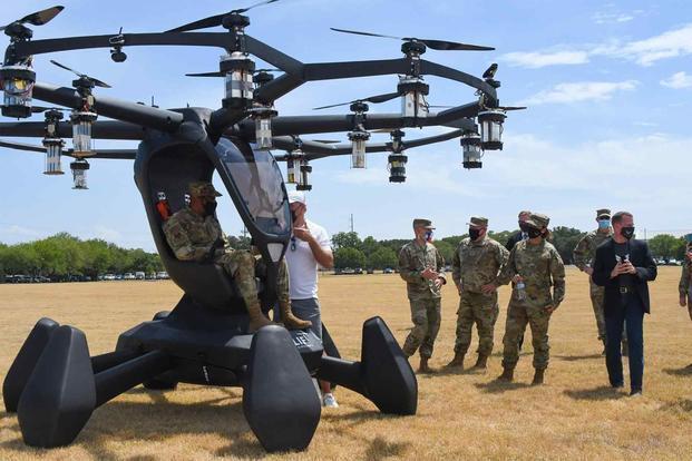 """美国空军正打造""""飞行汽车""""未来可取代C-130运输机"""