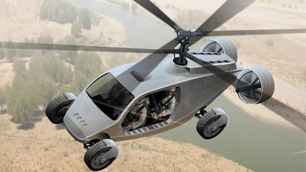美军重启飞行汽车计划部署亚太