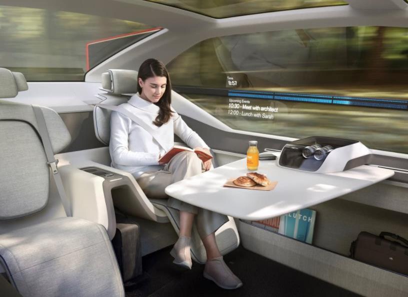 沃尔沃360c飞行汽车