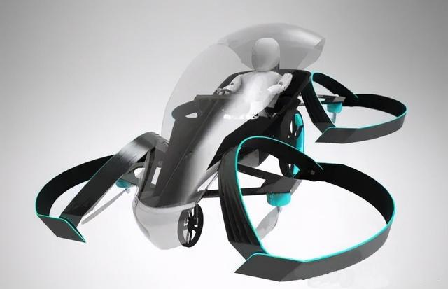 电动垂直飞行汽车