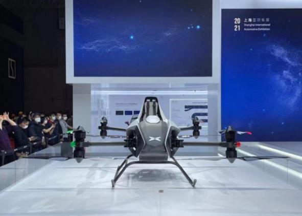 小鹏发布新型飞行汽车交通工具